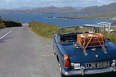 Classic car touring