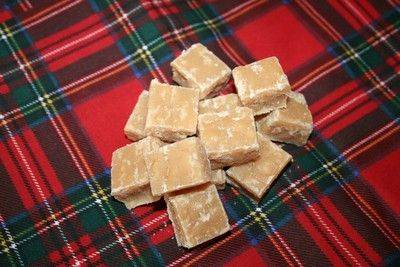 Home made Scottish tablet