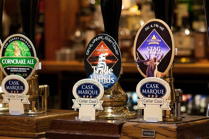 Award winning cask (real) ales, best in Lochaber!